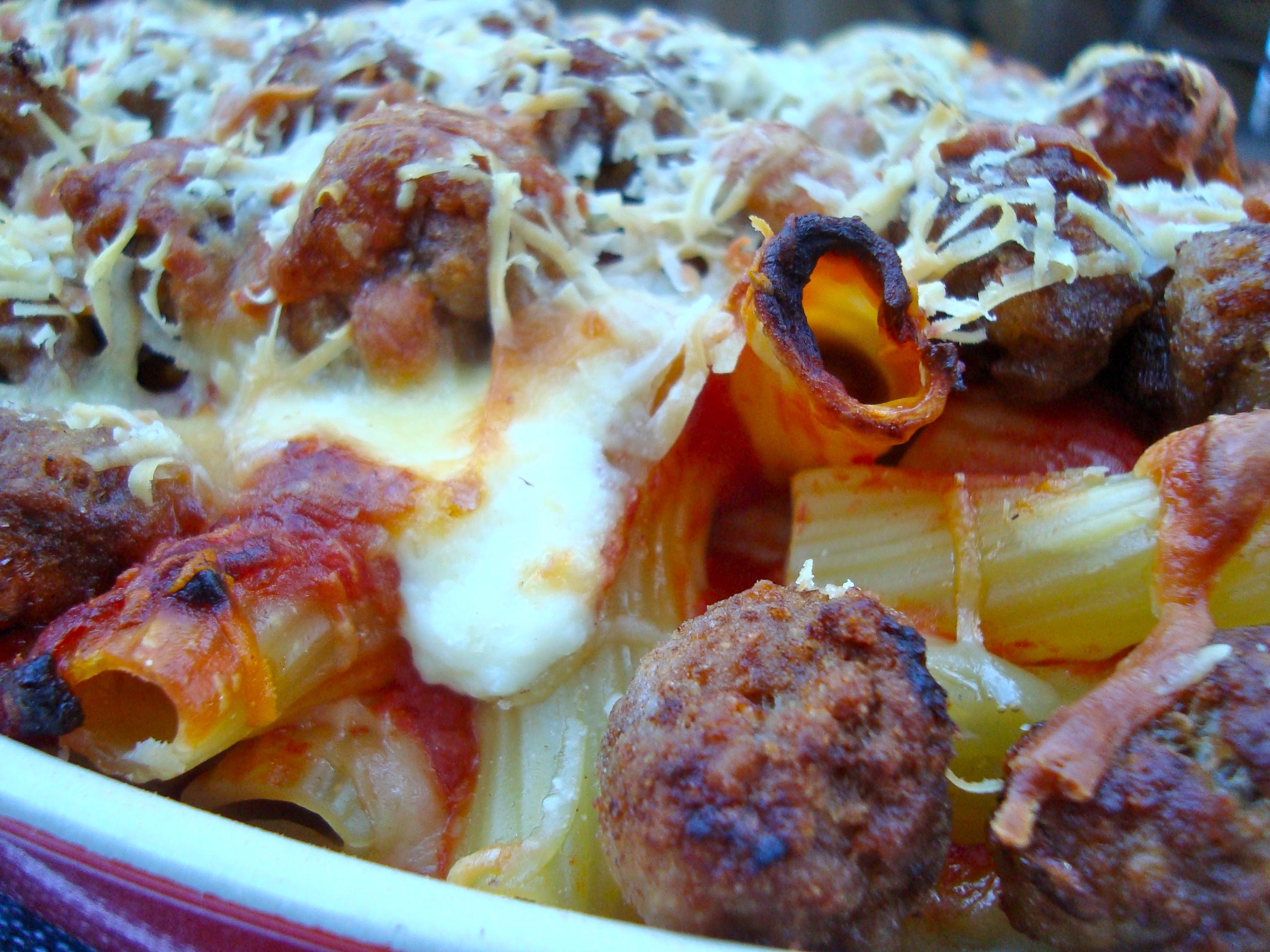Though until last night, I'd never eaten pasta al forno con le ...