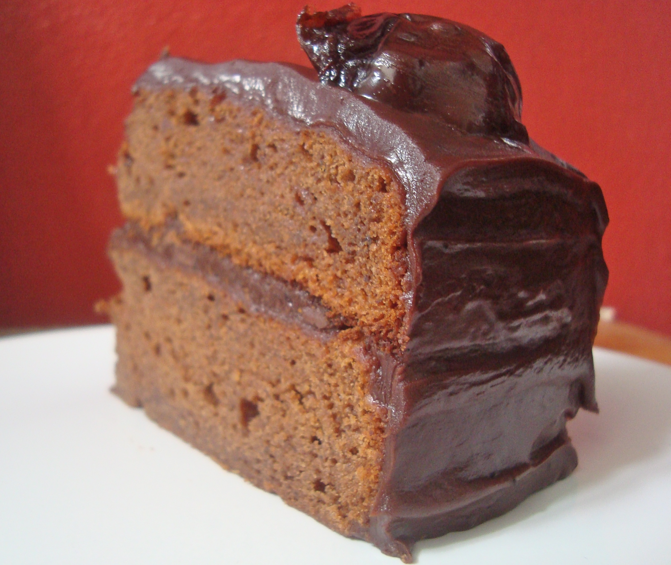 Chocolate-Prune Cake Recipe — Dishmaps