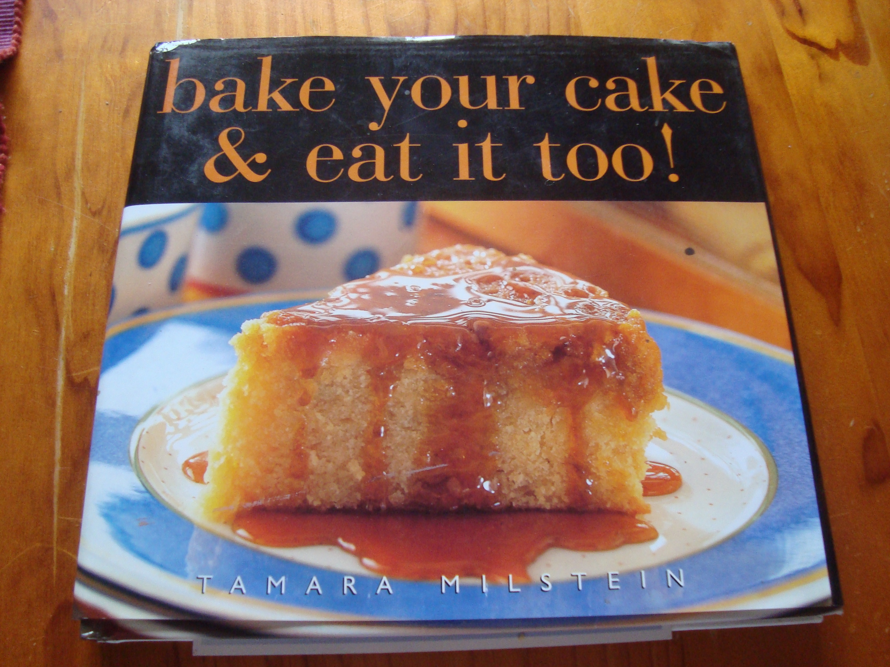 the Indonesian Nutmeg Cake in the regretfully named Bake Your Cake ...