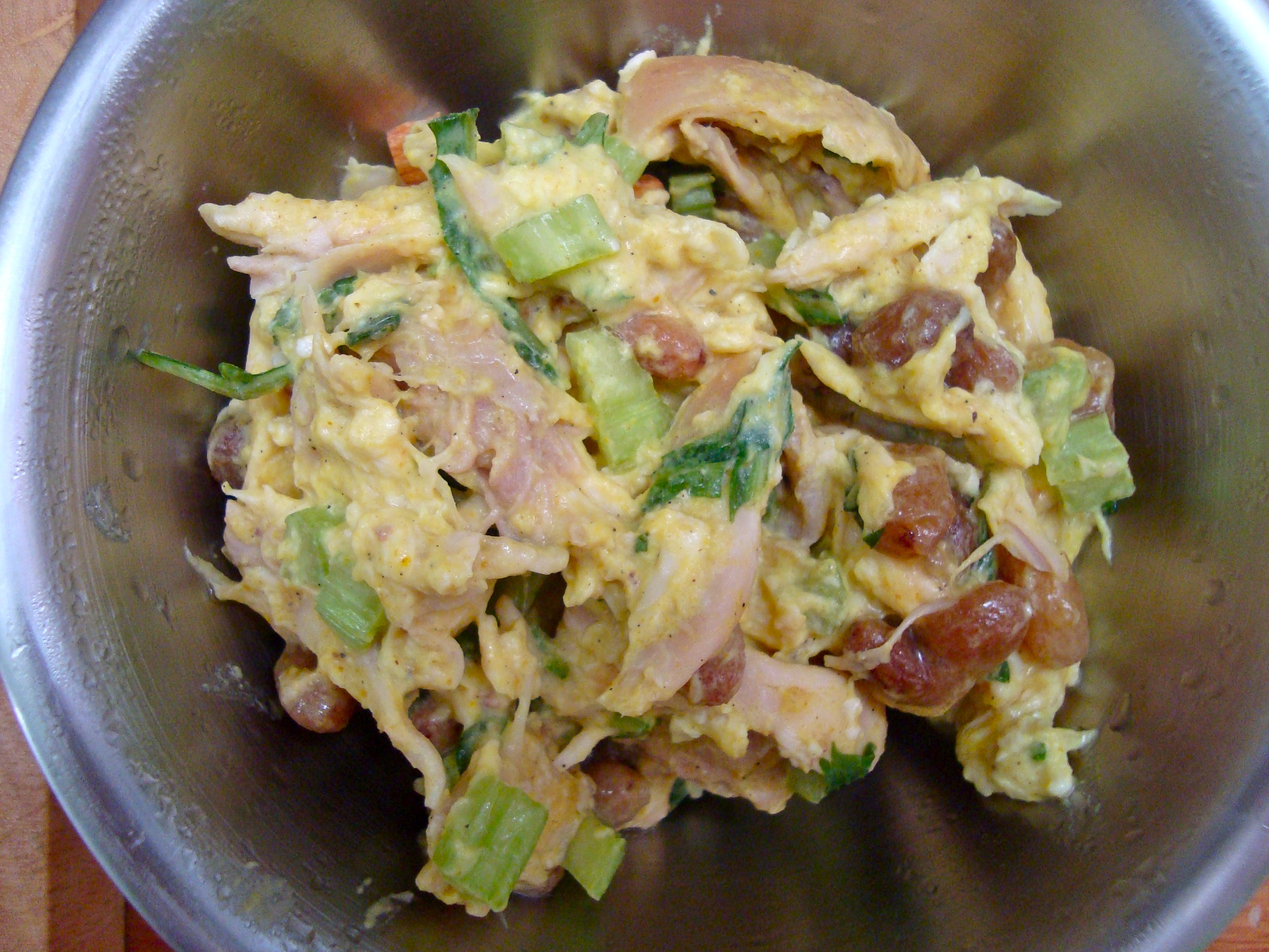 ... coronation chicken salad bbc good food coronation chicken salad recipe